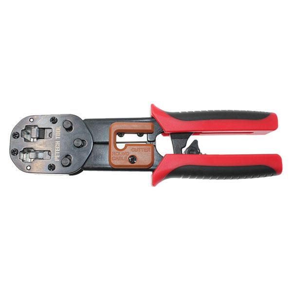 Superb Petechtool Ez Rj45 Crimp Tool For For Rj11 Rj12 And Rj45 Connector Wiring Database Ilarigelartorg